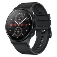 HUAWEI 华为 WATCH GT 2 Pro ECG版 智能手表 46mm 曜石黑