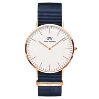 聚划算百亿补贴:Daniel Wellington 丹尼尔惠灵顿 Classic系列 女士石英手表手表