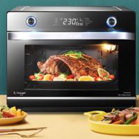 长帝CRWF42NE风炉大烤箱家用烘焙多功能空气炸锅全智能搪瓷烤箱