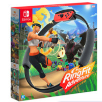 Nintendo 任天堂 NS游戏套装《健身环大冒险》体感运动环