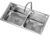 ARROW 箭牌卫浴 箭牌洗菜盆单槽双槽加厚厨房家用水盆洗手洗碗水池304不锈钢水槽