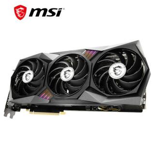 MSI 微星 魔龙 GeForce RTX 3070 GAMING X TRIO 8G 超频版 旗舰款 电脑显卡