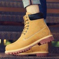 百亿补贴:Timberland 添柏岚 10061 男款马丁大黄靴