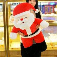 圣诞老人公仔毛绒玩具 50厘米