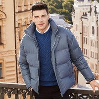 冬季新品韩版立领保暖舒适潮流时尚男士羽绒服
