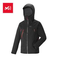 MILLET觅乐户外运动男款山地运动冲锋衣登山/徒步 MIV7840 0247黑 S