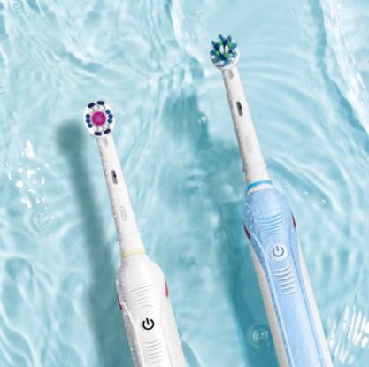 oralB欧乐B 电动牙刷P3000成人全自动充电男女情侣