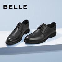 京东PLUS会员:BeLLE 百丽 33028AM0 男款休闲皮鞋