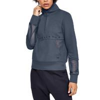限尺码:UNDER ARMOUR 安德玛 1348546044 女子半高领运动保暖卫衣