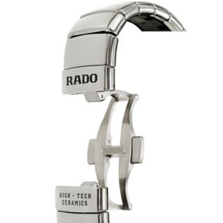 RADO 雷达 True真系列 R27351102 男士机械手表 40mm 灰盘 银色陶瓷带 圆形