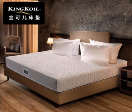 美国金可儿 床垫 席梦思 独立袋装弹簧床垫 偏硬 切尔西1.8米*2米*0.22米