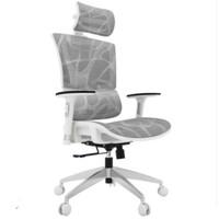 Ergoup 有谱 启元 人体工学椅 标准版白框斑马纹 旋转升降扶手
