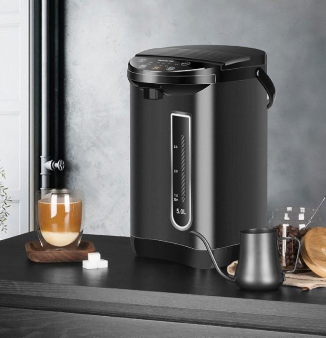 九阳(Joyoung)电热水瓶热水壶 5L大容量六段保温304不锈钢 家用电水壶烧水壶 K50-P611
