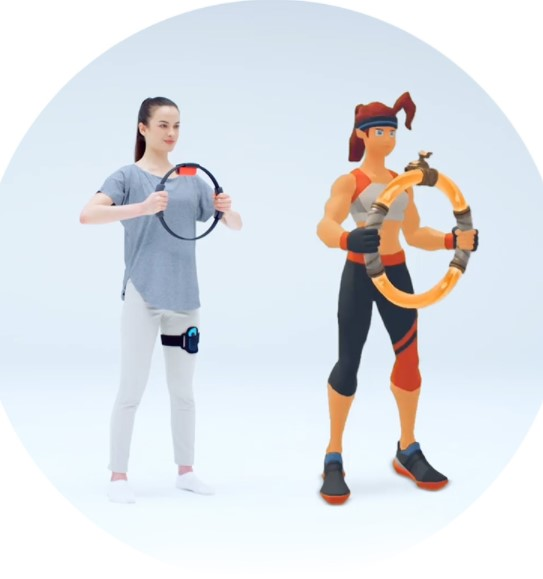 Nintendo Switch任天堂 健身环大冒险游戏套装 续航增强版体感游戏机 健身运动环Ringfit
