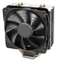 新品发售:DEEPCOOL 九州风神  玄冰400S CPU散热器(多平台/支持AM4/4热管/无光12CM风扇/附带硅脂)