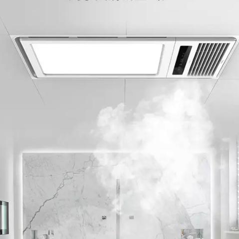 美的浴霸灯卫生间取暖集成吊顶排气扇照明一体官方浴室风暖机浴霸  【M0124-J 8cm箱体双核速热】(质保3年只换不修)