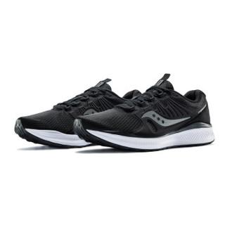 Saucony索康尼 INFERNO炽焰 网面透气舒适轻量缓震男跑鞋运动鞋S40035 黑 42.5 *3件