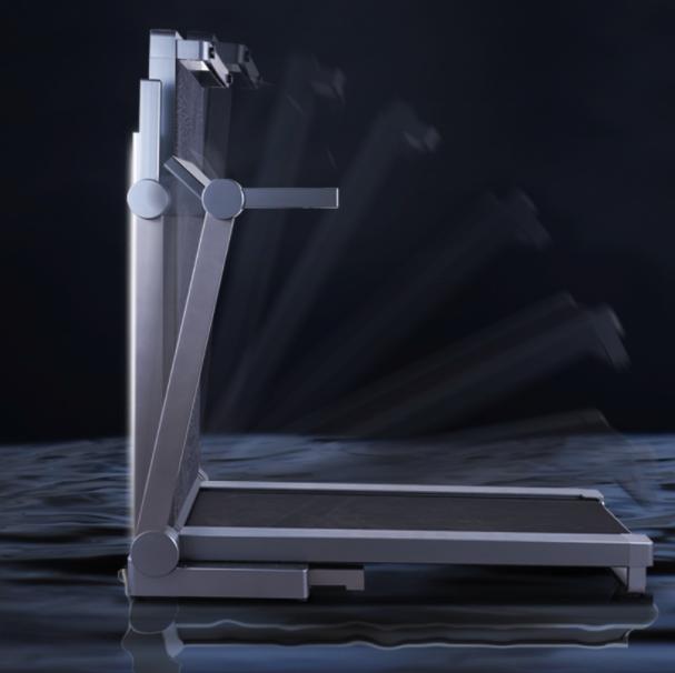 莫比跑步机家用款室内小型折叠式超静音多功能减震加宽健身房专用