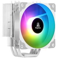 PLUS会员:Segotep 鑫谷 冷锋霜塔T5 CPU散热器 白色