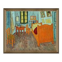 Artron 雅昌 梵高《梵高的卧室 》57x68cm 原作版画 背景墙装饰画挂画