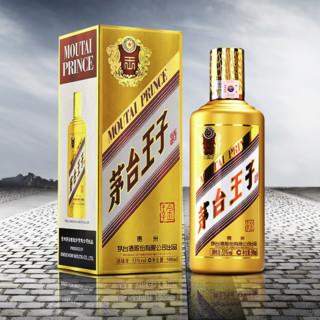 MOUTAI 茅台 茅台王子酒 金王子 53%vol 酱香型白酒 500ml 单瓶装