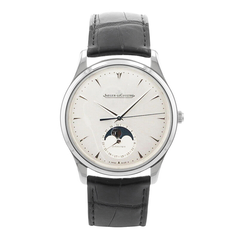 JAEGER-LECOULTRE 积家 Master大师系列 月相男士机械手表