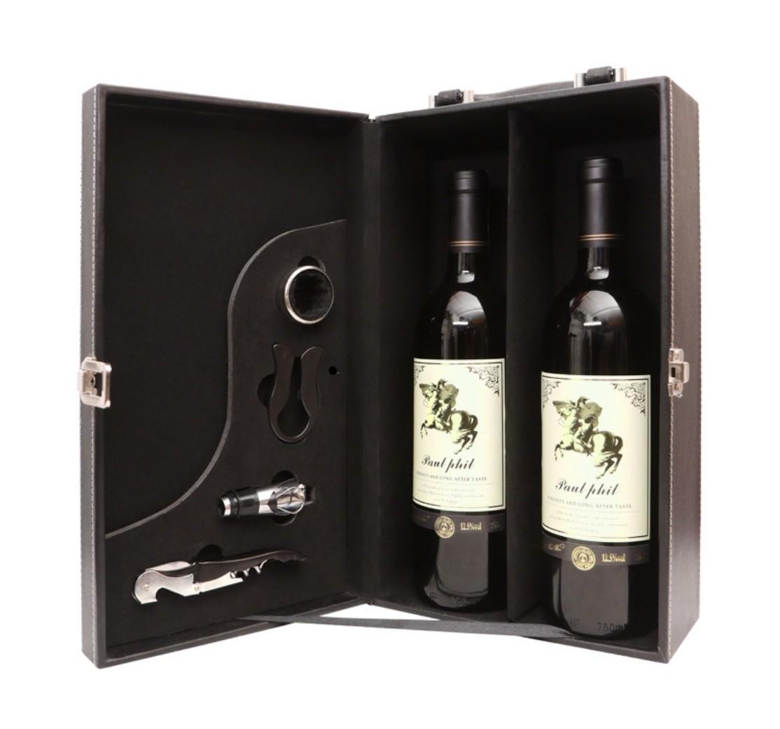 Paul Phil 保罗菲儿 干红葡萄酒 750ml*2瓶