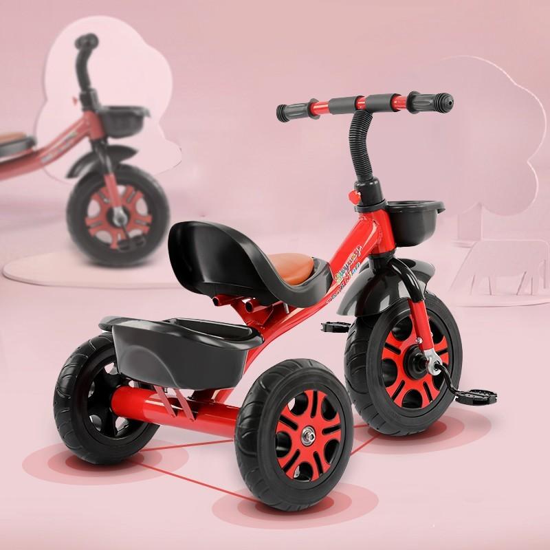 儿童轻便三轮脚踏车