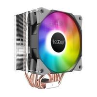 超频三(PCCOOLER)东海X7电脑CPU散热器1151/1200/AM4台式机CPU风扇静音炫彩