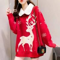 真维斯 JY-04-293496-231  圣诞针织毛衣