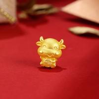 16日0点:ZLF 周六福 AD166117 黄金手链转运珠