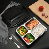 MAXCOOK 美厨 MCFT069 不锈钢饭盒 加大加深4格 1.5L *2件