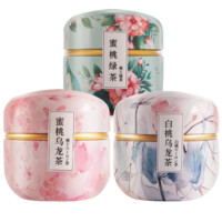 zmpx 中闽飘香 茶包花茶组合装 15包/罐 (蜜桃乌龙60g+白桃乌龙60g+蜜桃绿茶60g)