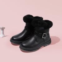 BeLLE 百丽 女童保暖马丁靴