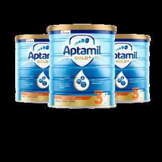 Aptamil 爱他美 金装版 幼儿奶粉 澳版 3段 900g*3罐