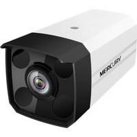 水星安防攝像頭300萬音頻H.265+室內半球型監控 紅外夜視 5米拾音高清監2.8/4/6mm焦距 四燈槍機POE供電MIPC3142P-4