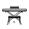 CASIO 卡西欧 CDP系列 CDP-S100 电钢琴 88键重锤 黑色 X架+单踏板+琴凳礼包