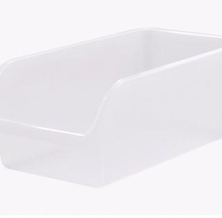 BELO 百露 塑料食物收纳箱 2个装 透明色