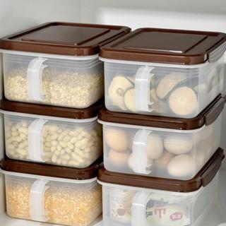 BELO 百露 冰箱收纳盒 2个装 卡其色