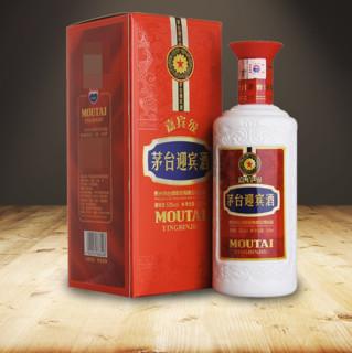 MOUTAI 茅台 茅台迎宾酒 嘉宾级 53%vol 酱香型白酒 500ml 单瓶装
