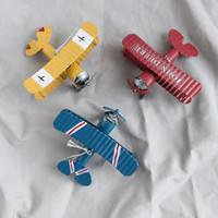 移动专享: KIDNOAM 复古铁艺小飞机 2个装