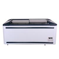 澳柯瑪IHF-D1909P臥式展示柜商超大容積冷柜-20度至-24度560L自動加熱除霜冰柜