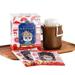 TASOGARE 隅田川 DE)日本进口新庄君系列挂耳式黑咖啡粉 摩卡口味 10片装