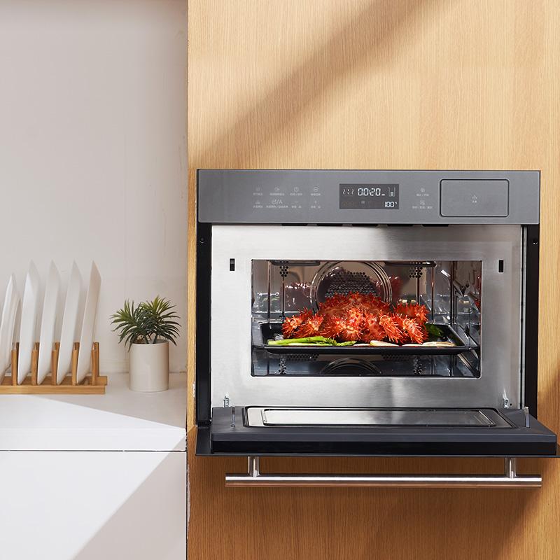 Midea 美的 美的R3嵌入式微蒸烤箱三合一体机 电蒸箱电烤箱微波炉家用烘焙