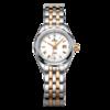 EBOHR 依波 大师系列 JD50100224 女士机械手表 27.5mm 白盘 间金不锈钢表带 圆形