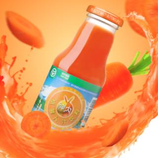 神内新疆胡萝卜汁饮料238ml*20瓶绿色食品果蔬汁轻断食代餐包邮