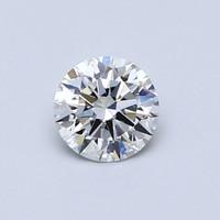Blue Nile 0.50克拉圆形切割钻石(切工EX,成色G,净度VS1)