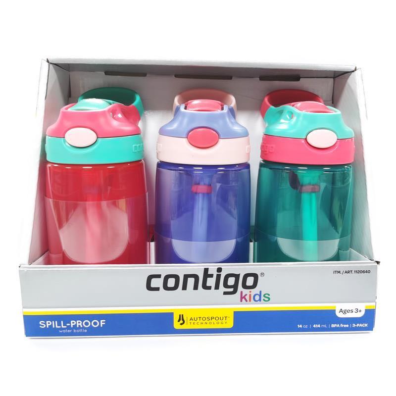 88VIP :  Contigo 康迪克 儿童防漏吸管杯 414ml*3个