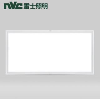 NVC Lighting 雷士照明 高亮 集成吊顶灯 led吸顶灯  30*60cm暖白光 长方形 24瓦