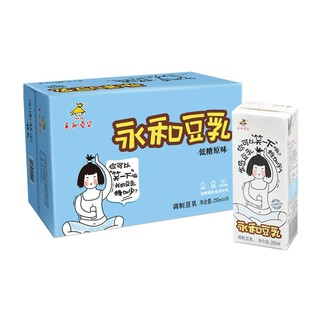 88VIP : YON HO 永和豆浆 低糖原味豆乳 250ml*18/盒 *5件